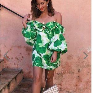Alice McCall revolve lover To Lover Dress Green